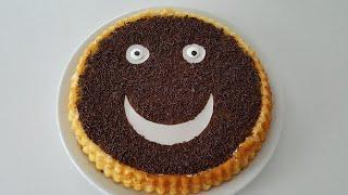 Çocukların Yüzünü Güldüren Pasta-Eti Cin Pastası  Nasıl Yapılır?Pasta Tarifleri-Gurbetinmutfagi