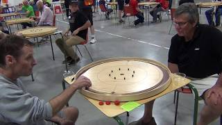2019 World Crokinole Championship - Top 16 - Conrad v Campbell