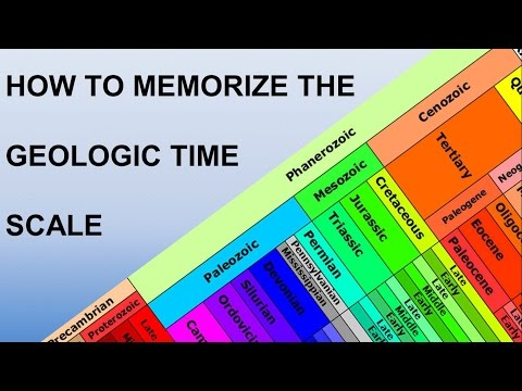 5 Useful Mnemonic Devices for the Geologic Time Scale