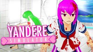 MAI WAIFU & MIDORI SHOWERING... - Yandere Simulator Update (Yandere Simulator Naked Glitch Gameplay)