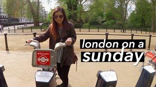 Pro X London on a Sunday: Flower Markets, Street Food, & Biking Around ????