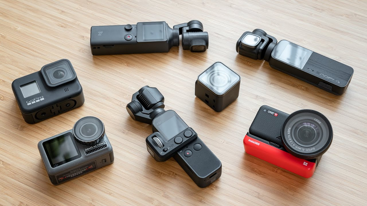 Best Compact / Action Cameras 2020 - GoPro, Osmo Pocket, One R & More