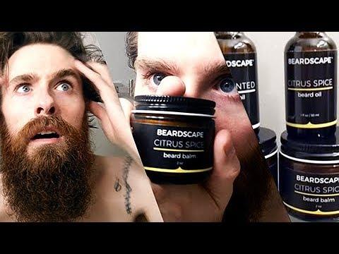 NON-GMO Organic Beard Oils & Balms! - Beardscape Review
