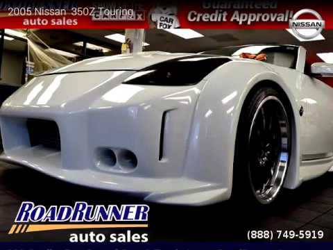 Road Runner Auto Sales >> 2005 Nissan 350z Touring Roadrunner Auto Sales Youtube