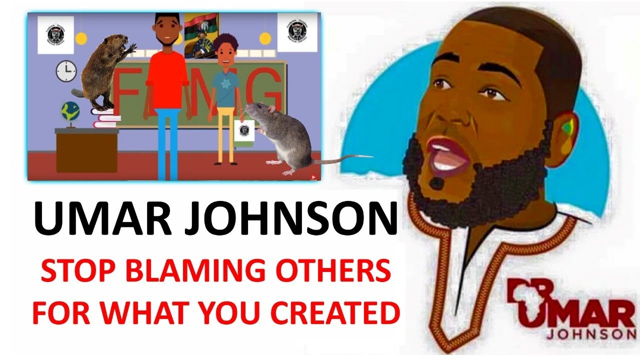 Umar Johnson Turns Vandalism Into Disgraceful Self-Promotion ~ Then Begs For Money - Part 2