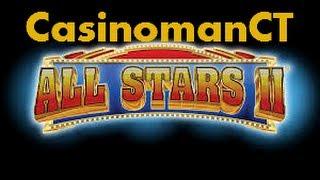 VIP All Stars II - Aristocrat Slot Machine Bonus