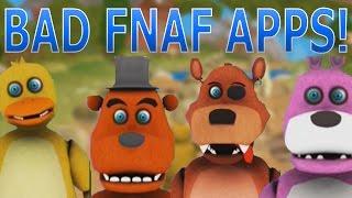 BAD FNAF GAMES