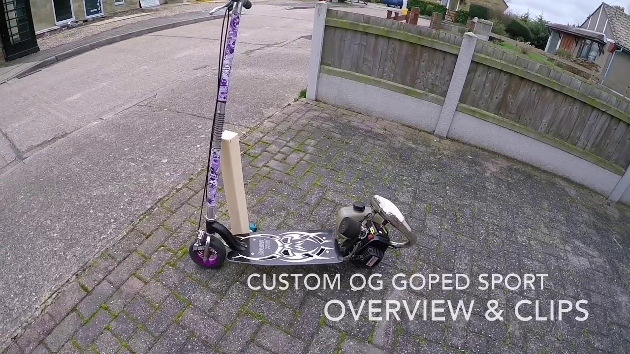 GoPed - Rare Custom GoPed Sport - Overview