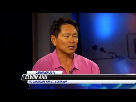 Elwin Ahu - Lieutenant Governor Interview Hawaii News Now  - @ahuforHawaii