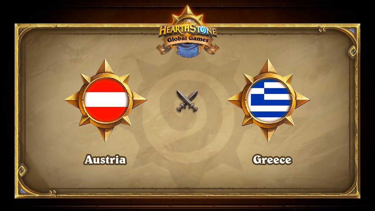 Austria vs Greece, Hearthstone Global Games Phase 2
