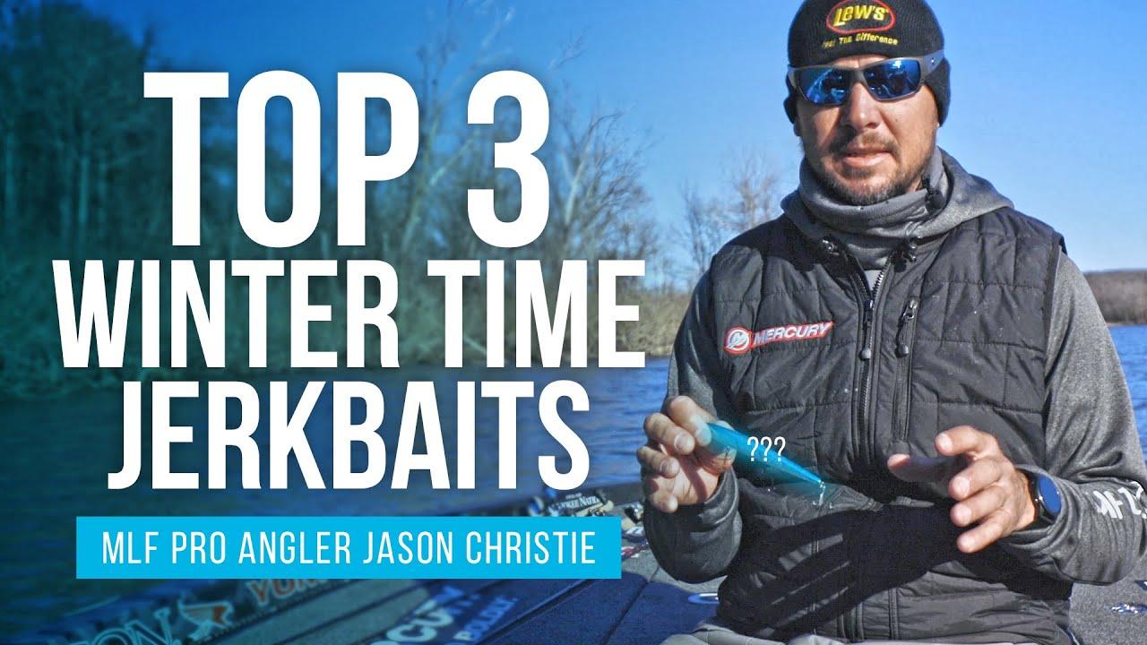 Jason Christie's Top 3 Winter time Jerk baits