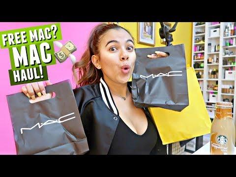 How I Got FREE Mac Makeup! MAC Cosmetics Haul