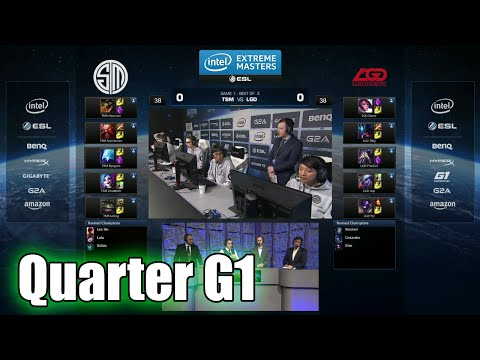 TSM vs LGD Gaming | Game 1 Quarter Finals IEM San Jose LOL 2015 | Team Solomid TSM vs LGD G1