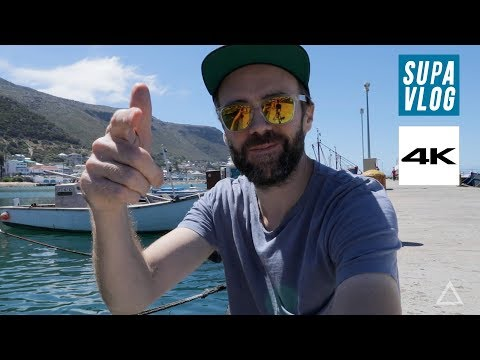 Driving to CAPE TOWN | 4K Supa VLOG