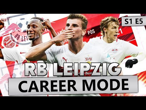 £250 MILLION SPENT! FIFA 18 CAREER MODE RB LEIPZIG #5