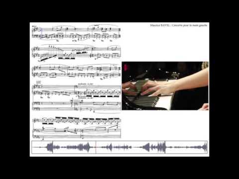 RAVEL : Concerto pour la main gauche - suivi de partition