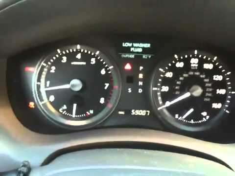 Lexus Es350 Traction Control Youtube