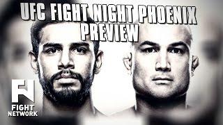 UFC Fight Night Phoenix: Rodriguez vs. Penn & Moraga vs. Pettis Preview