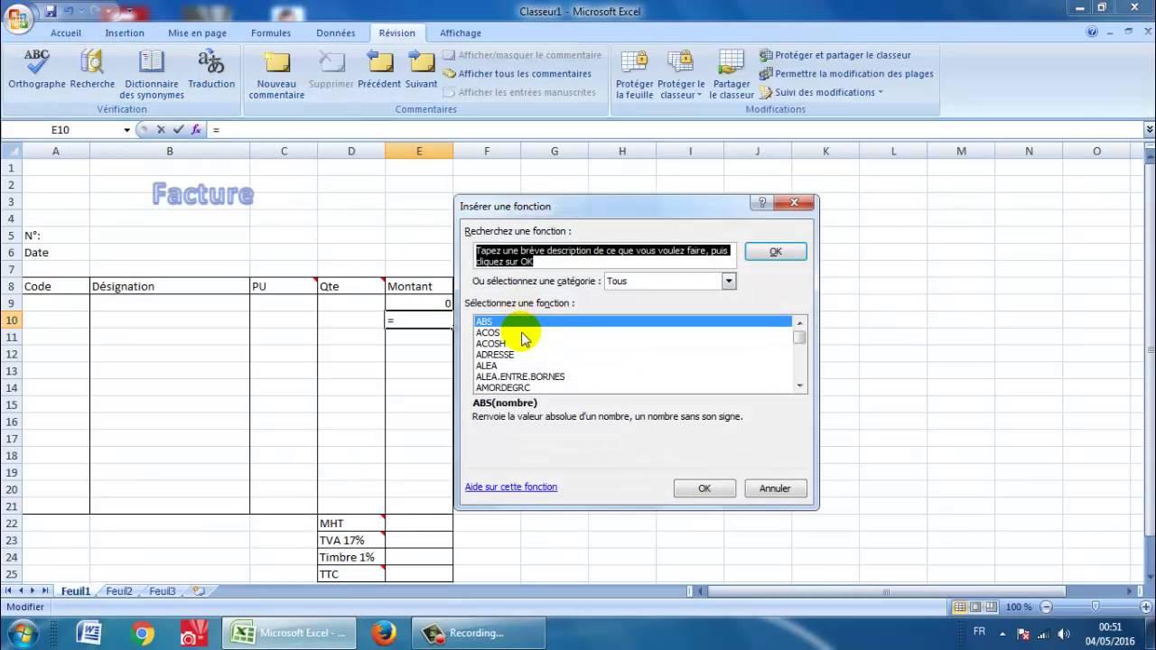 12 نموذج فاتورة Exemple D Une Facture Youtube