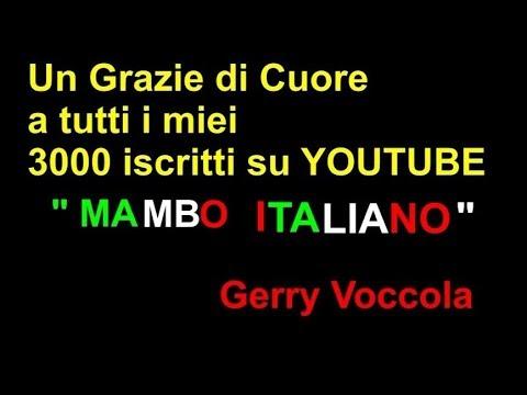 MAMBO ITALIANO Karaoke GERRY VOCCOLA (Cover)