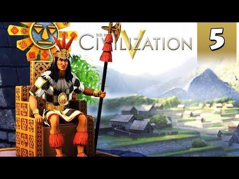 Civilization 5 Vox Populi #5 - Inca Gameplay