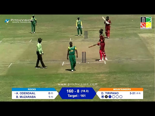 Zimbabwe Domestic T20 | 3rd Place Play-Off | Rocks vs Mountaineers