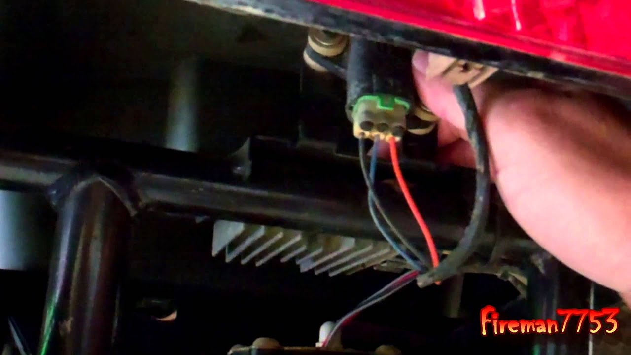 Changed the Voltage Regulator on My Arctic Cat  YouTube