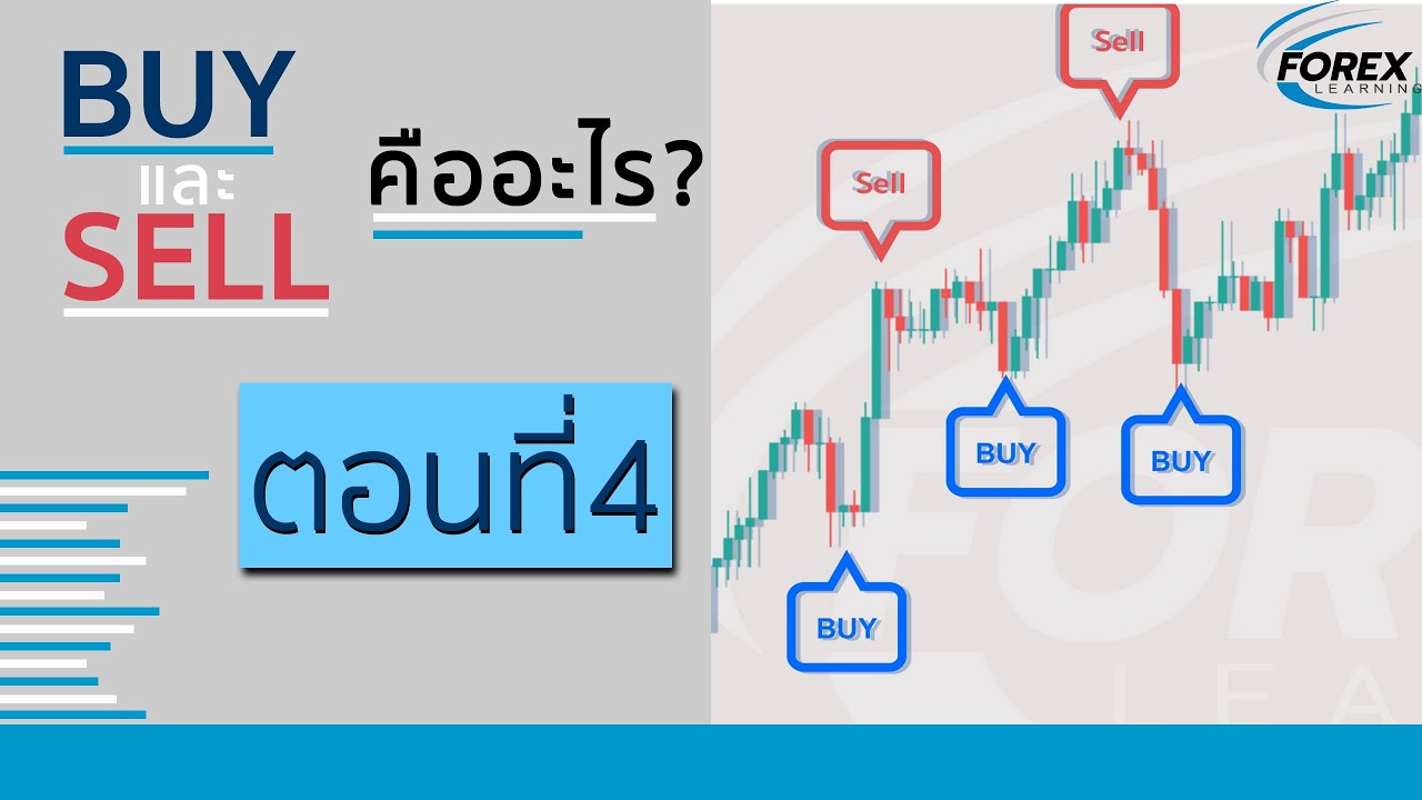 Buy และ Sell คืออะไร EP.4 [Forex Learning.Co]