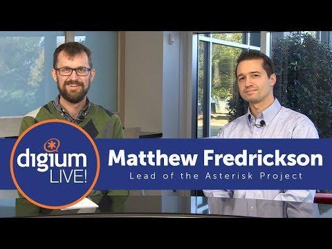 Matthew Fredrickson & ASTERISK 15 | Digium Live!