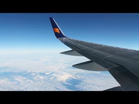 Icelandair 757-200 Reykjavik/Keflavik-Oslo Safety, Takeoff, Inflight, Landing FI318