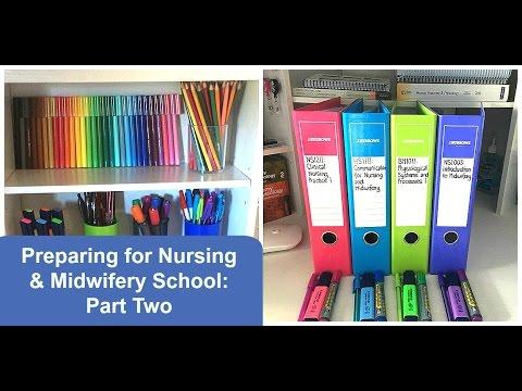 Preparing for Nursing & Midwifery School: Part 2, Stationery ✏️