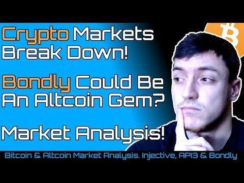 Crypto Markets Break down! | Bondly Potential Altcoin Gem?