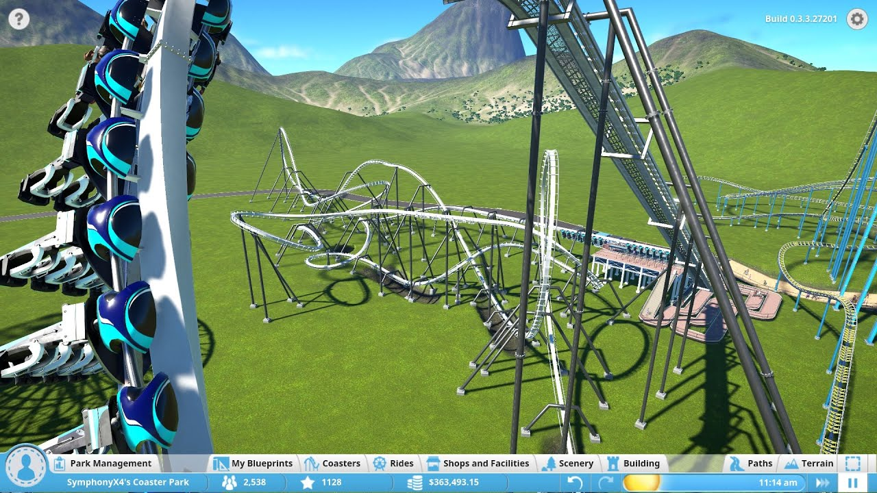 how to add blueprint to planet coaster alpha