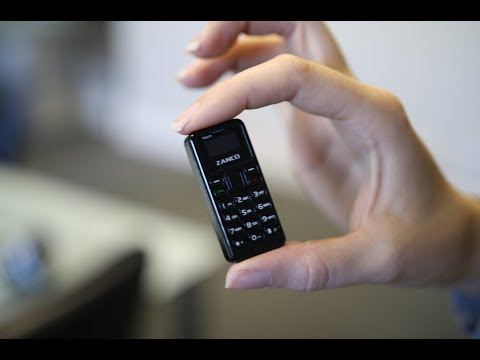 Το μικρότερο κινητό στο κόσμο έχει μέγεθος αντίχειρα και ζυγίζει 13 γραμμάρια!