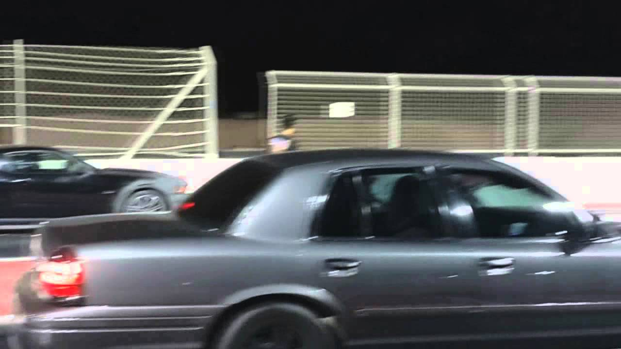 Supercharged Crown Victoria Vs Mustang   Panther Arabia Youtube