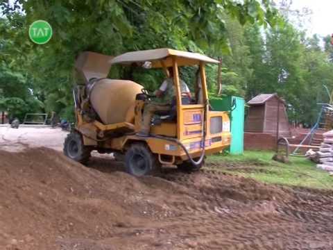 Обновления в парке имени Пушкина