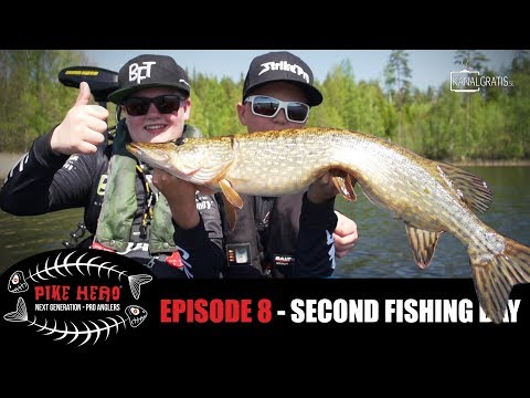 PIKE HERO 2017 - Episode 8 - Second Fishing Day (English, German & French subtitles)