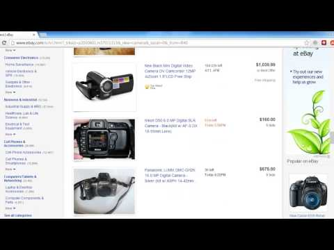 How to Find Ebay Completed Auctions