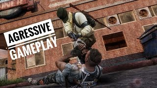 Agressive gameplay with different weapons / TLOU intense gameplay #11