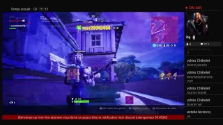 [Ps4 live broadcast Fortnite season 8 I buy the pack at 20]