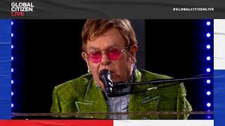 Elton John Performs 'Tiny Dancer' Live From Paris | Global Citizen Live