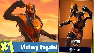 LIVESTREAM #631 FORTNITE ! NOVA SKIN VERTEX ! COMPRO ? :O 🏆 383 WINS