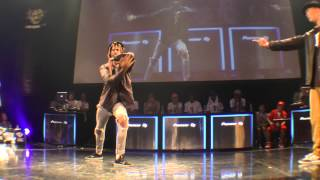 Boogie Brothas Kid Boogie & Slim Boogie vs ATZO & P→☆ BEST4 POP / WDC 2015 FINAL