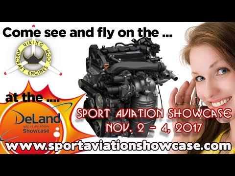 Viking Honda Experimental Aircraft Engine Conversions Sport Aviation Showcase 2017 Deland Florida