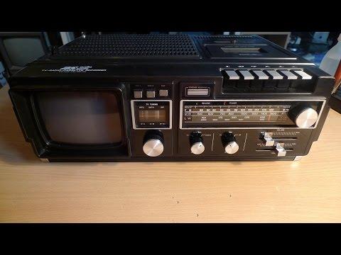 Audio Sonic - TV Radio Cassette Recorder Type TC-5533