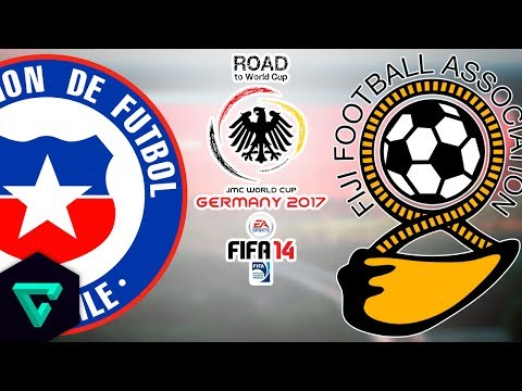 Chile vs. Fiji | 1st Leg | CONMEBOL-OFC | Road To World Cup Germany 2017 | FIFA 14