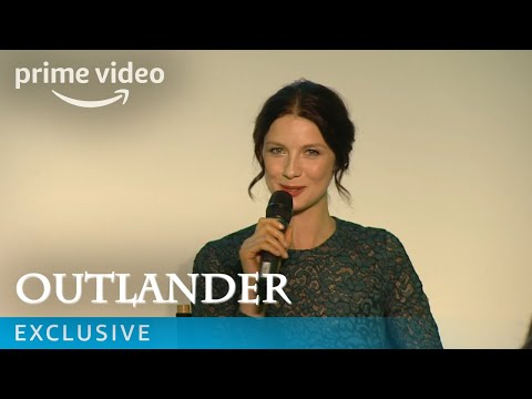 Outlander - UK Premiere Q&A with Caitriona Balfe, Sam Heughan & Ron Moore | Amazon Prime Video