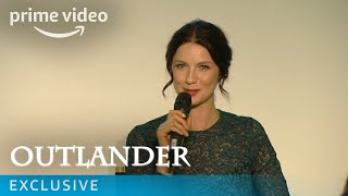 Outlander UK Premiere Q&A with Caitriona Balfe, Sam Heughan & Ron Moore | Amazon Prime