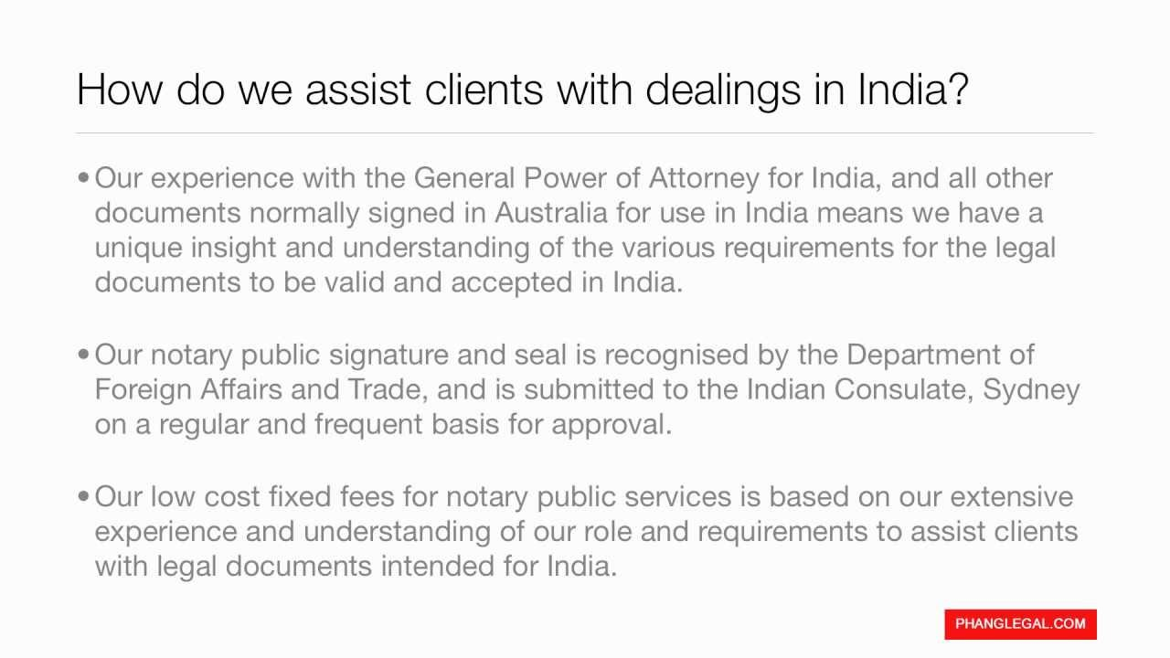 Phang legal notary public services general power of attorney phang legal notary public services general power of attorney for india falaconquin