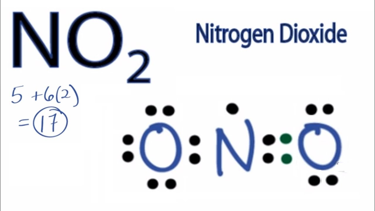 hight resolution of no2 lewis structure how to draw the lewis structure for no2 youtube lewis dot diagram for nitrogen trichloride lewis dot diagram for nitrogen